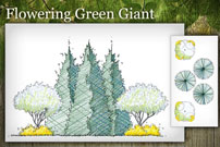 Flowering Green Giant